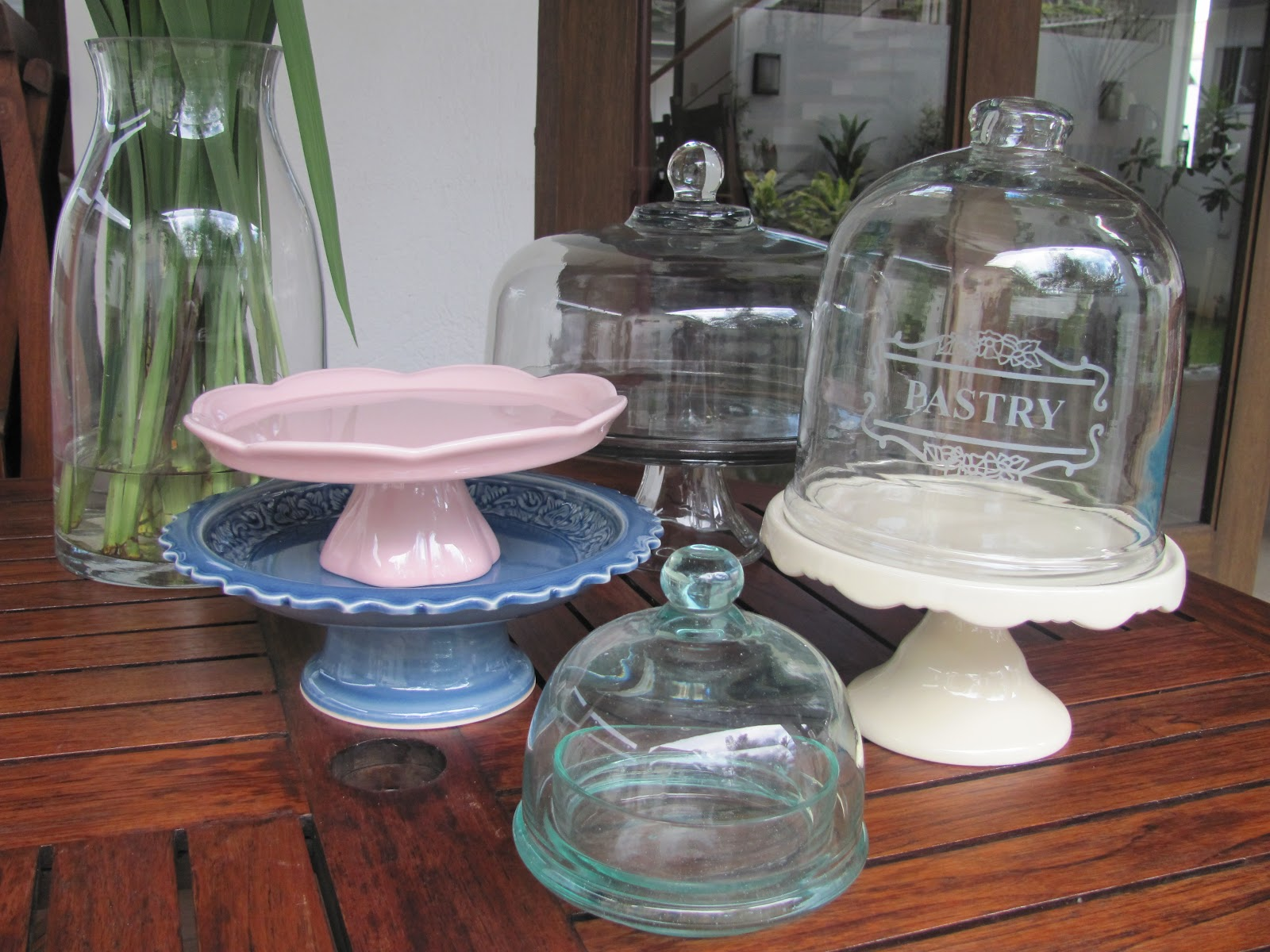 zinc saveoncrafts sets stands stand dome with pedestal cloche pedestals rustic glass serving metal cake