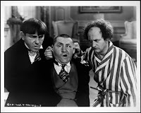 Three Stooges, 1938 - from Library of Congress