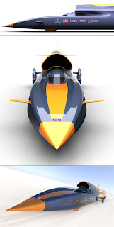 Curventa Bloodhound SSC (Three Views)