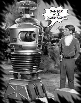 Robot Warning System