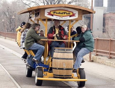 The PedalPub on the Road!