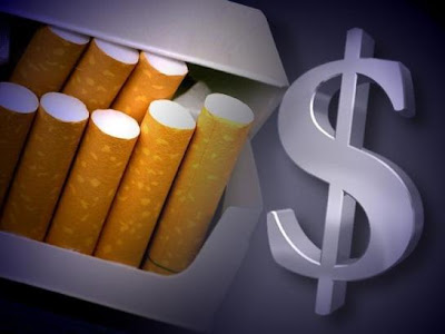 Cigarettes and Money - Source: New York Senate