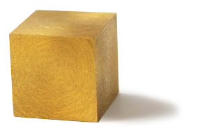 Solid Gold Cube - Source: Juwelier Lachenmann GmbH