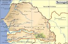 mapa senegal
