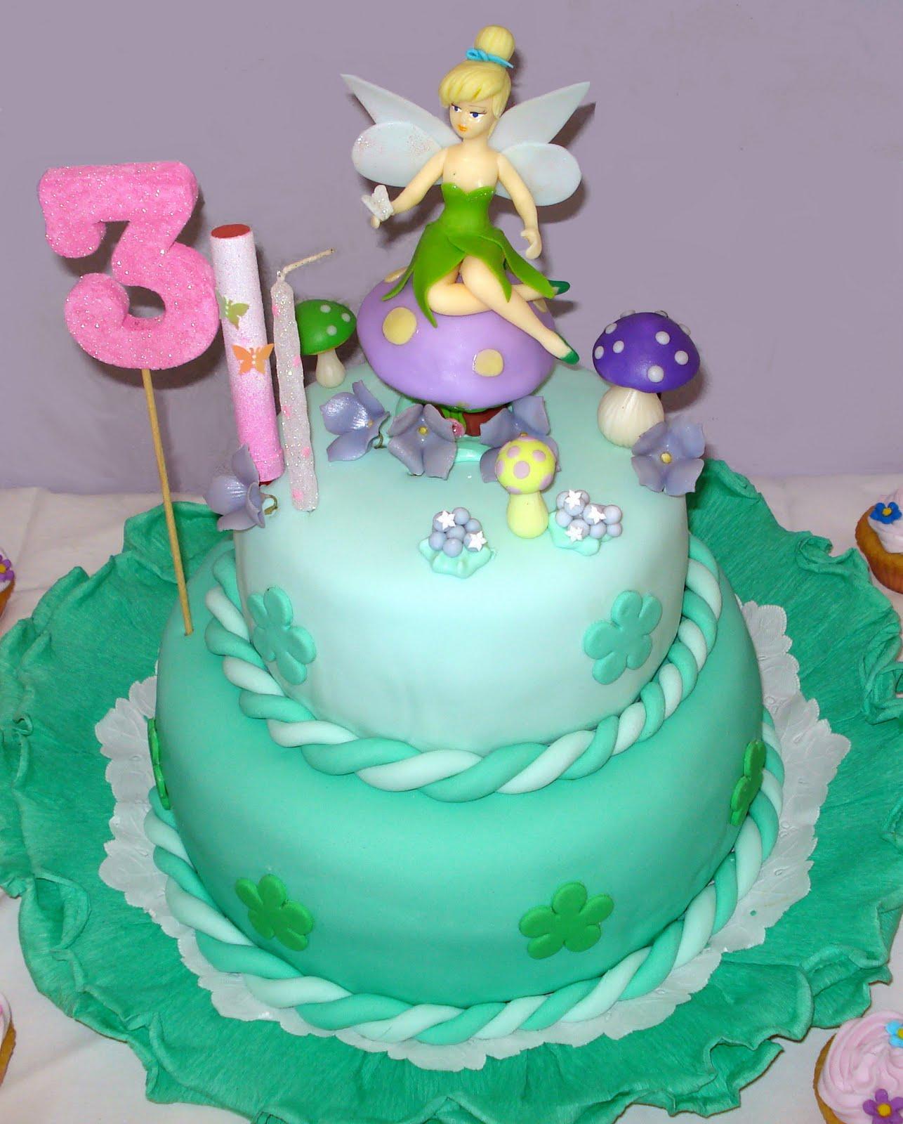 Imagenes de tortas con Tinkerbell - Imagui