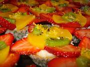 aca va una tarta de frutas deliciosa que si bien . dsc