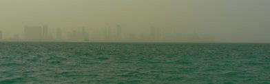Murky skyline