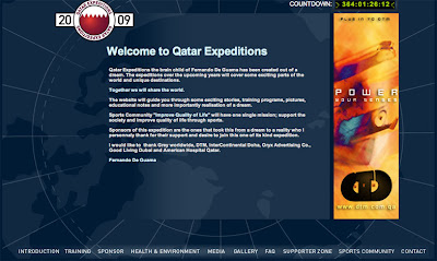 Qatar Expeditions screen grab