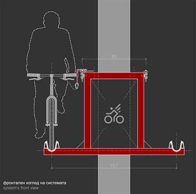 Sky Bike Lanes Concept