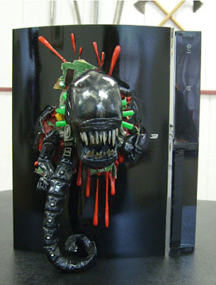 Sony PS 3 Case Mod: Alien Chestburster