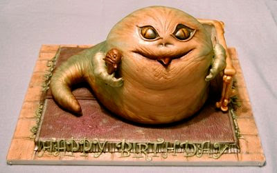 Unique: Jabba Birthday Cake