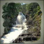 Dingman's Falls in the Pocono Mountains