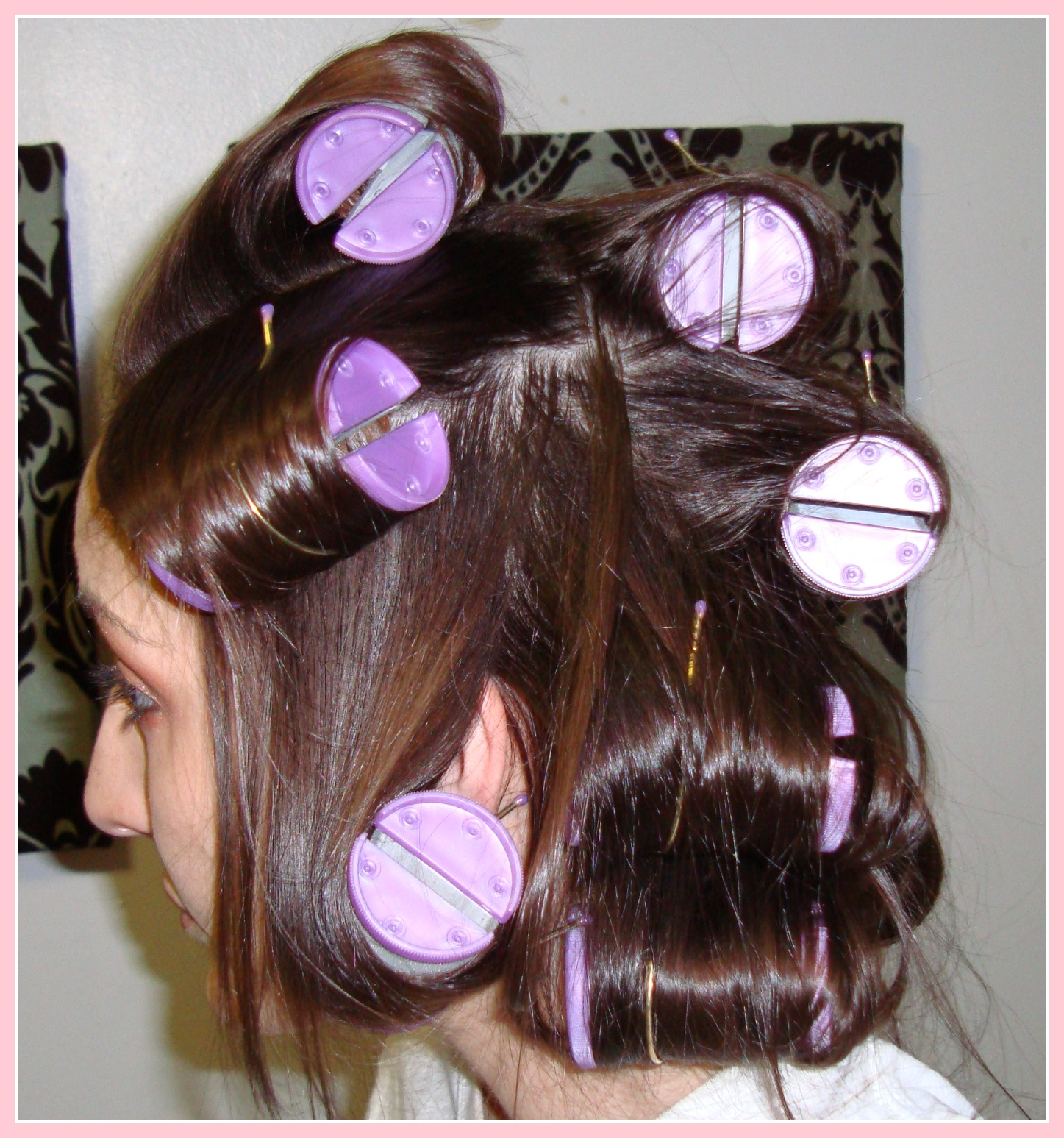 1 Inch Hot Rollers Hair 57