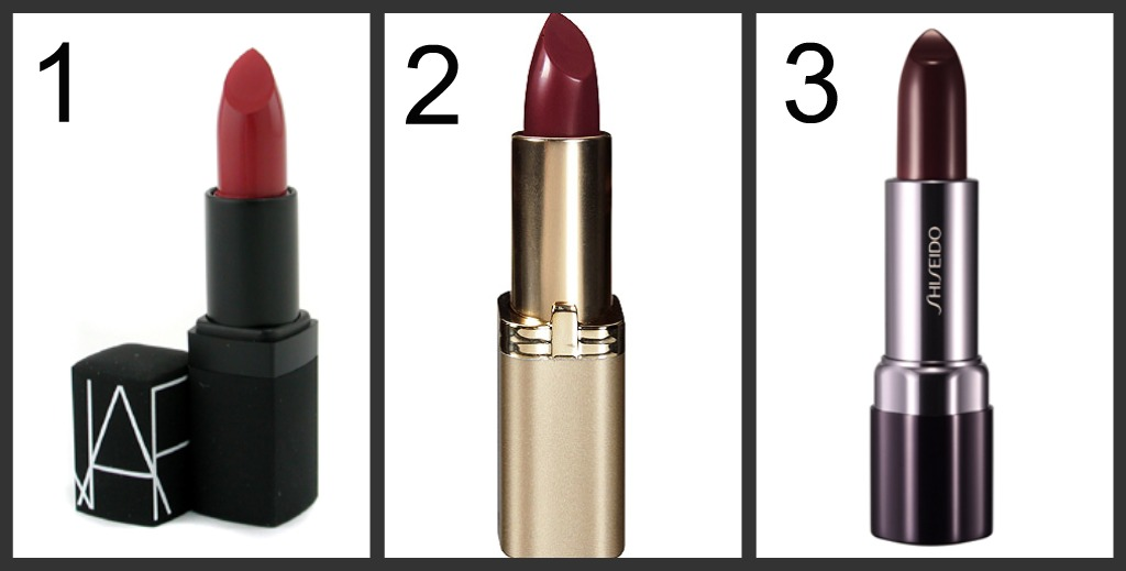 prettied up trend to try now burgundy lipstick