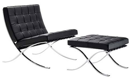 Some of Mies van der Rohe's most iconic furniture designs,