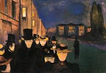Sera sulla via Karl Johan (1892)