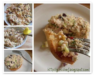 Chicken Salad w/ Cherries, Apples & Almonds