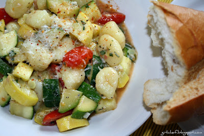 Gnocchi with Summer Veggies