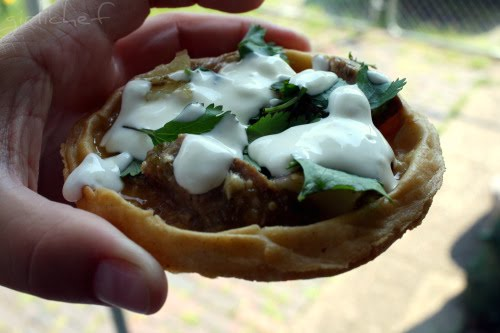 Pile the leftovers onto a sope for another taste sensation!