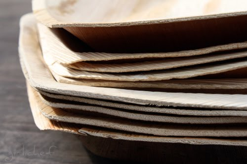 Product Review: <b>Palm Leaf Plates</b> <i>from Marx Foods</i ...