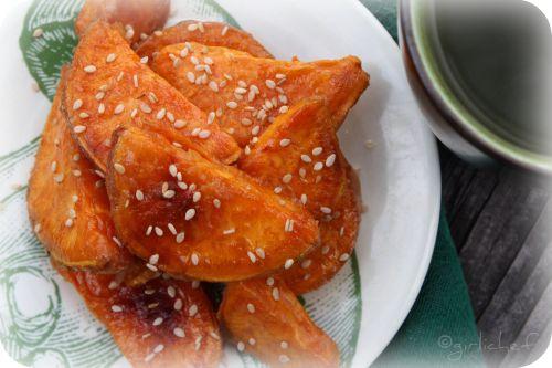 Daigaku Imo  <i>...Caramel-Coated Sweet Potato for Regional Recipes</i>