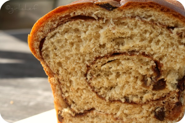 Our next raisin bread loaf will be an oatmeal loaf- no swirl. We'll ...