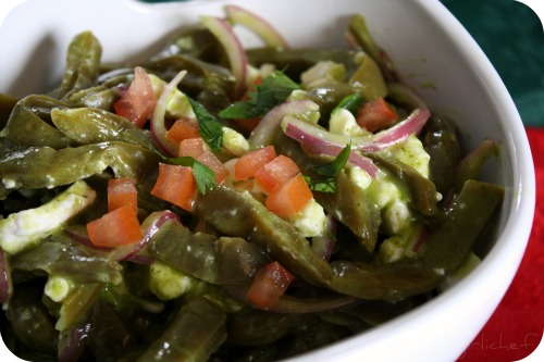 Nopalitos Salad <i>(Cactus Paddle Salad)</i>