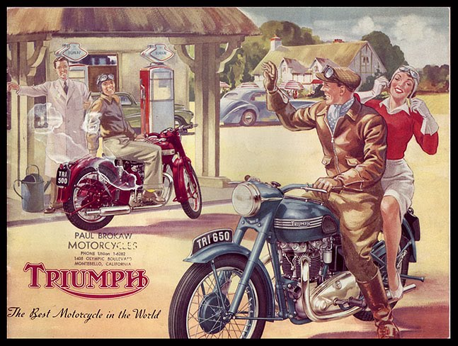 Catalogo triumph de 1950 for Best motor oil in the world