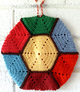 HEXAGON POTHOLDER CROCHET PATTERNS CROCHET