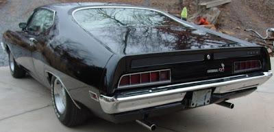 Ford Torino Black