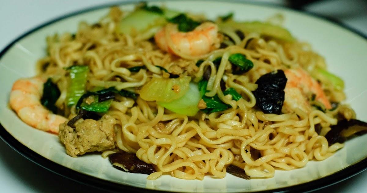 how to make fried ramen noodles