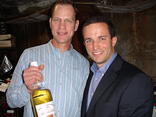 Kevin with Compass Box founder John Glaser and Peat Monster Reserve