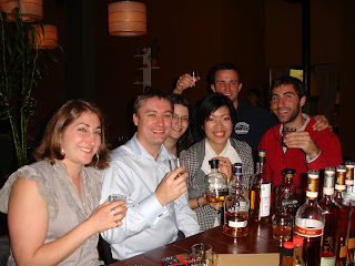Kevin with Liza Weisstuch, Iain Baxter, Noon, and others