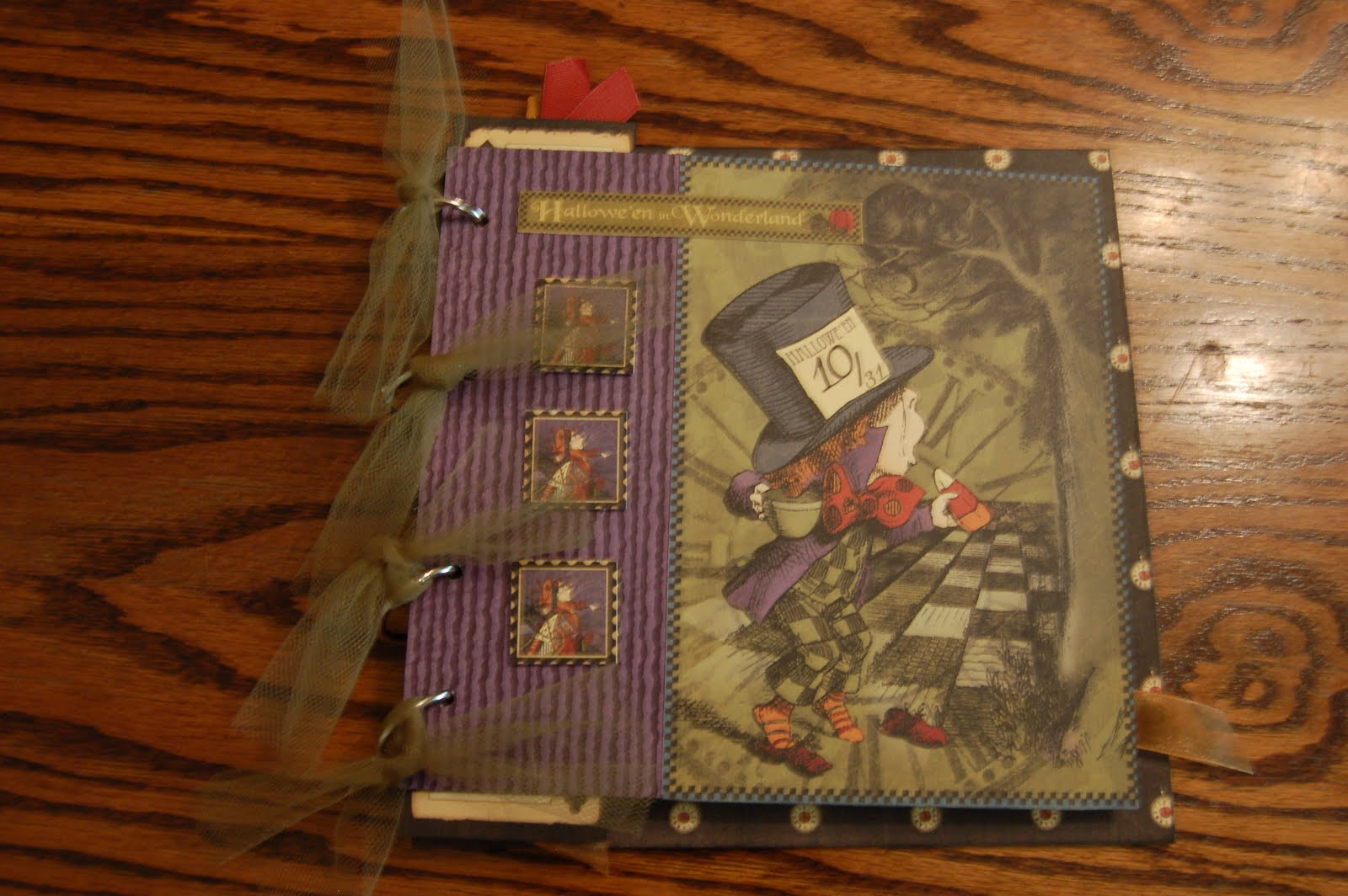 My Life In Haysville Halloween In Wonderland By Graphic 45 And