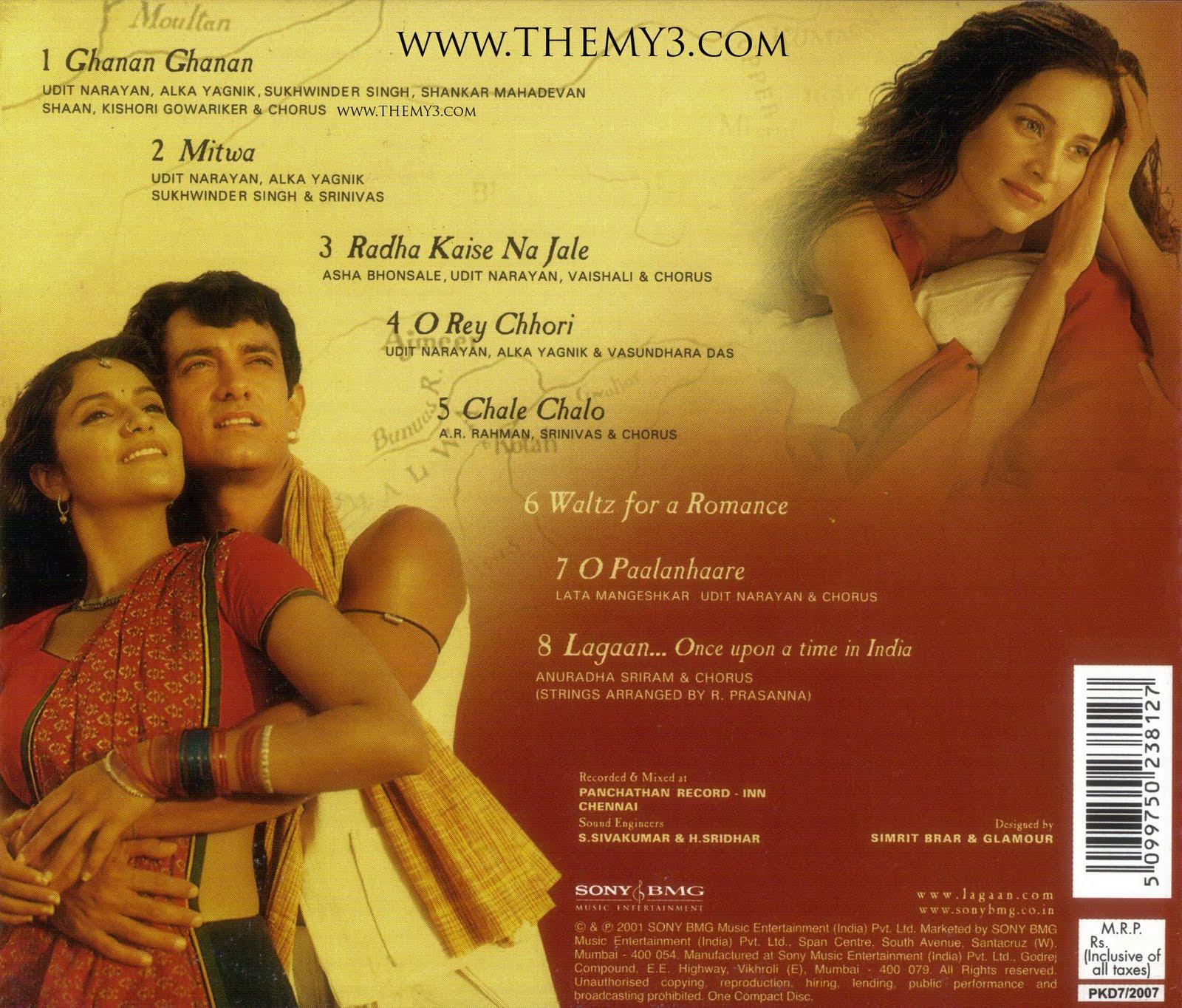 lagaan � amir khan2001 hindi movie mp3 audio songs