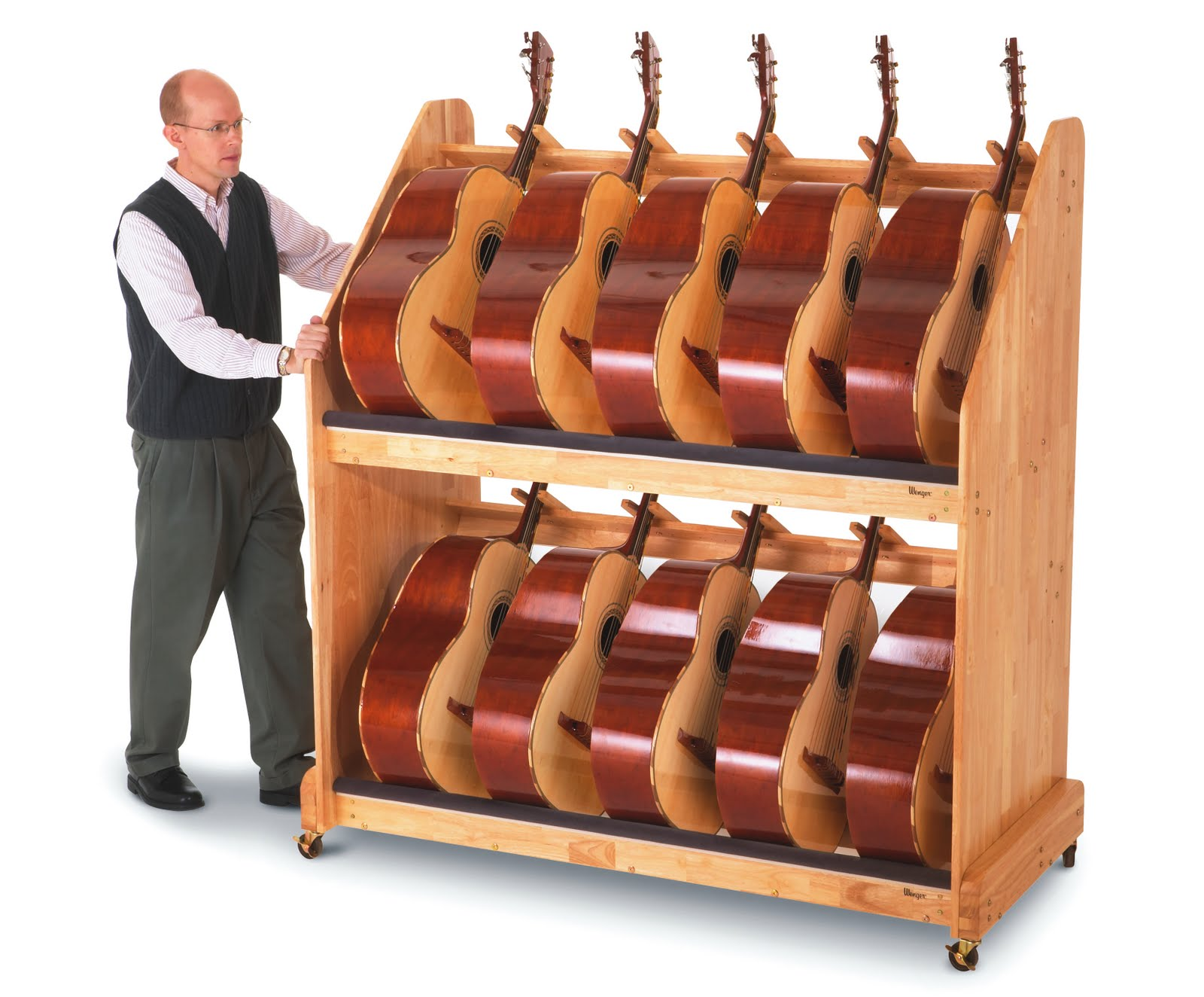 New Guitar Storage Rack Makes For Easy Transportation