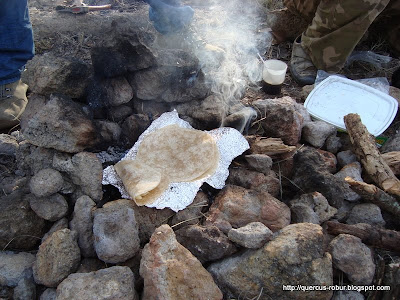 Unas sabrosas quesadillas de campamento