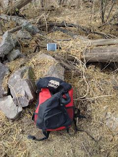 Geocache en el Cerro Grande de Ameca