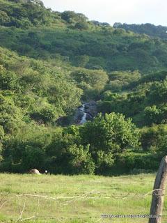 Cascada proveniente del Cerro La Col