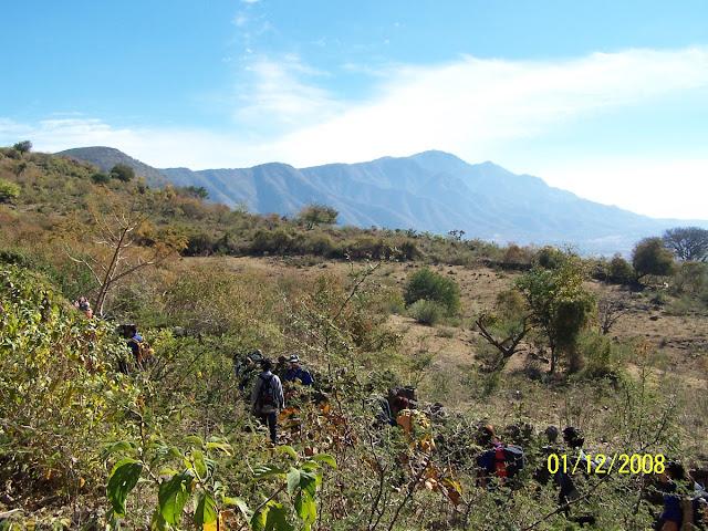 Subiendo Cerro Viejo desde el Molino