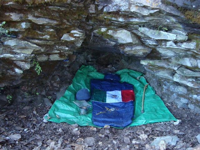 Cueva de Cerro Viejo donde dormí