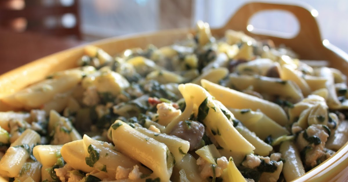 Cleanse Your Palate: Chicken Spinach Mushroom Artichoke ...