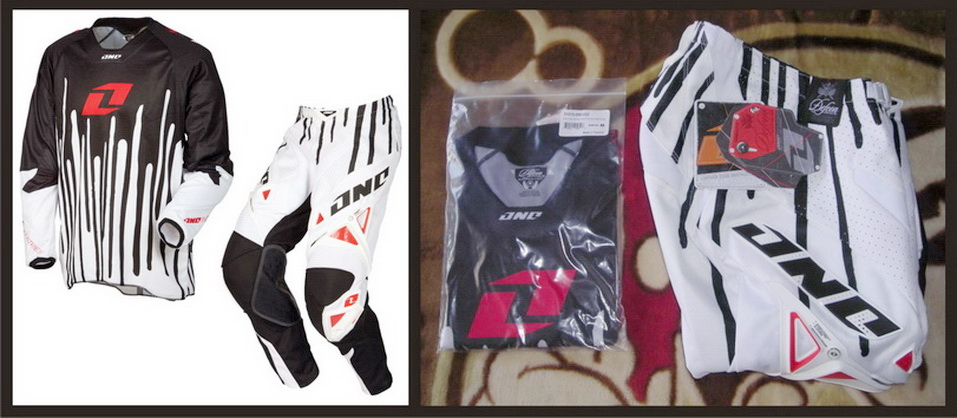 Motocross Jersey & Pant One Industries Defcon Drips
