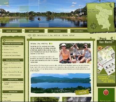 portal de turismo san martin, peru