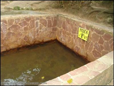 poza de los baños termales de san mateo, moyobamba