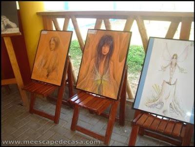 pinturas en el festival de la orquidea 2009, peru