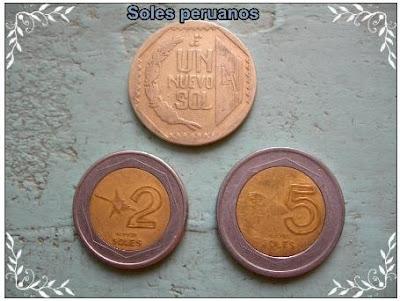 soles peruanos