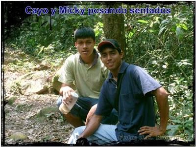 aventureros en la selva
