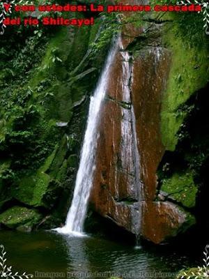 cascada del rio shilcayo