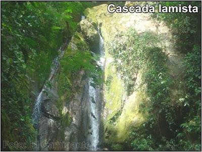 cascada de chapawanki en lamas, peru